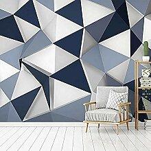 Moderne kreative geometrische Muster 3D-Fototapete