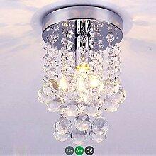 ☞ Moderne Kristall Deckenleuchte Hall Lampe E14