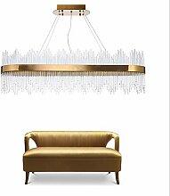 Moderne Kristallleuchter-Beleuchtung für