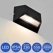 MODERNE LED Außenleuchte Außenwandleuchte IP54