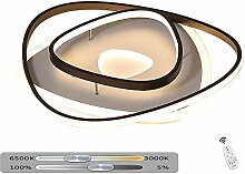 Moderne LED Deckenleuchte Dimmbar Runde