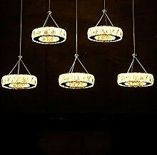 Moderne LED-Kristall-Leuchter-Licht-Lampe für