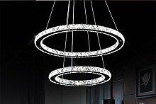 Moderne LED Kristallleuchter beleuchtet Lampe für
