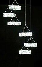 Moderne LED Kristallleuchter-Licht-Lampe für