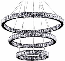 Moderne LED-Kristallleuchter-Licht-Lampen für