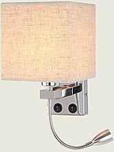 Moderne LED Nachttisch Wandlampe Leselampe
