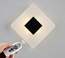 Moderne LED-Nachttischlampe Wandlampe, Leselampe,