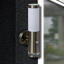 Moderne LED Wandleuchte Lis2 mit Bewegungsmelder