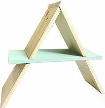 Moderne Massivholz Nachttisch Schreibtisch kleine Bücherregal einfache Mini Nähte Klappregal ( Farbe : #2 )