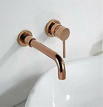 Moderne Messing Wandarmatur Waschbecken Wasserhahn