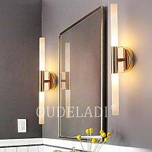 Moderne Metallrohrwasserlampe LED Wandlampe