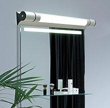 Moderne minimalistische Badleuchten LED-Spiegel Vorderleuchten Volkswagen Aluminium Spiegel Scheinwerfer Badezimmer Lichter Lichter ( farbe : Warmes licht-Small size- 50cm 7w )