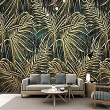 Moderne minimalistische goldene geprägte Wandbild