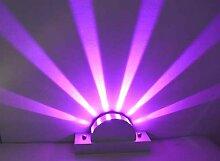 Moderne minimalistische LED Aluminium Wandlampe