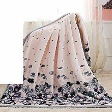 moderne minimalistische Stil Blumen/Blumen Gestreift dicker Polyester Sofadecken-I 120x200cm(47x79inch)120x200cm(47x79inch)