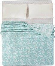 moderne minimalistische Stil Blumen/Blumen [verdicken] Doppelschicht Polyester Sofadecken-C 150*200cm(59x79inch)
