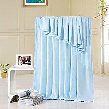 moderne minimalistische Stil Einfarbig 100% Baumwolle Sofadecken-B 180*220cm(71x87inch)