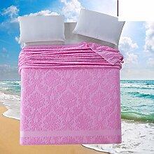 moderne minimalistische Stil Einfarbig Blumen/Blumen 100% Baumwolle Sofadecken-D 150*200cm(59x79inch)