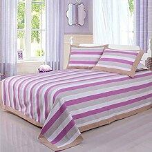 moderne minimalistische Stil Einfarbig Gestreift [verdicken] Doppelschicht Polyester Sofadecken-Q 250x250cm(98x98inch)