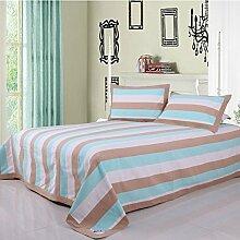 moderne minimalistische Stil Einfarbig Gestreift [verdicken] Doppelschicht Polyester Sofadecken-J 250x250cm(98x98inch)