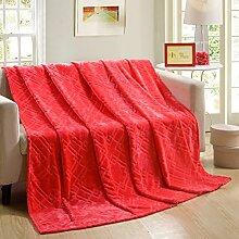 moderne minimalistische Stil Einfarbig Gestreift [verdicken] Doppelschicht Polyester Sofadecken-F 120x200cm(47x79inch)120x200cm(47x79inch)