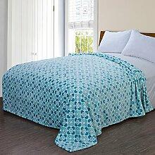 moderne minimalistische Stil Einfarbig Gestreift [verdicken] Doppelschicht Polyester Sofadecken-D 110x200cm(43x79inch)