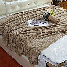moderne minimalistische Stil Einfarbig Polyester Sofadecken-D 100x150cm(39x59inch)