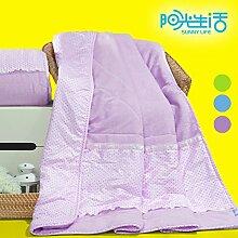 moderne minimalistische Stil Einfarbig [verdicken] Doppelschicht Polyester Sofadecken-F 180x200cm(71x79inch)