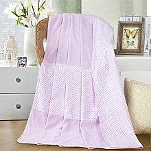 moderne minimalistische Stil Einfarbig [verdicken] Doppelschicht Polyester Sofadecken-G 120x150cm(47x59inch)