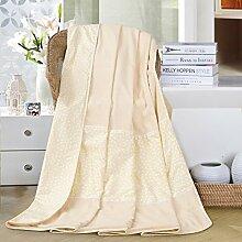 moderne minimalistische Stil Einfarbig [verdicken] Doppelschicht Polyester Sofadecken-B 200x230cm(79x91inch)
