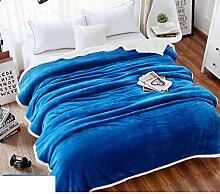 moderne minimalistische Stil Einfarbig [verdicken] Doppelschicht Polyester Sofadecken-E 150*200cm(59x79inch)