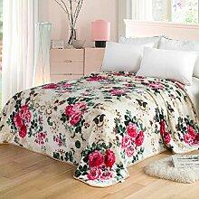 moderne minimalistische Stil Einfarbig [verdicken] Doppelschicht Polyester Sofadecken-H 120x200cm(47x79inch)120x200cm(47x79inch)