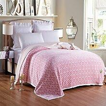 moderne minimalistische Stil Geometrisch [verdicken] Doppelschicht Polyester Sofadecken-D 150*200cm(59x79inch)