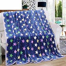 moderne minimalistische Stil Gestreift Blumen/Blumen [verdicken] Polyester Sofadecken-E 150*200cm(59x79inch)