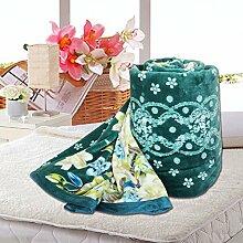 moderne minimalistische Stil Gestreift Polyester [verdicken] Sofadecken-B 200x230cm(79x91inch)