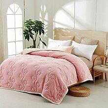 moderne minimalistische Stil Gestreift [verdicken] Doppelschicht Polyester Sofadecken-A 150*200cm(59x79inch)