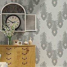 moderne minimalistische Tapeten/Feder Tapete/warm Schlafzimmer Tapeten/Wohnzimmer Wände für Wallpaper/Umweltschutz3D wallpaper/Drei dimensionale Vliestapete-E