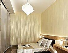 Moderne Minimalistische Vertikale Streifen Schlicht Vliestapete Wohnzimmer Schlafzimmer Tapeten Hintergrund Schaufenster Restaurant,Yellow