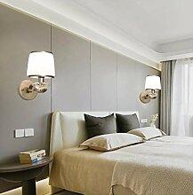 Moderne minimalistische Wandlampe Wohnzimmer TV