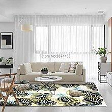 Moderne Mode abstrakte grüne Bananenblatt Pflanze