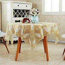 Moderne Mode Tischdecke/Quadratische Tischdecke/Tee Tischdecke-A 137x137cm(54x54inch)