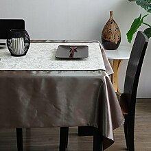 Moderne Mode Tischdecke/Stoff Baumwolle Polyester Tischdecke-A 140x160cm(55x63inch)