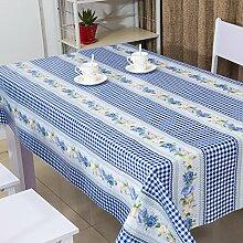 Moderne Mode Tischdecke/Wasserdicht PVC Tischdecke/Tischtuch-G 137x100cm(54x39inch)