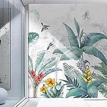 Moderne nordische tropische Pflanze Blumen und