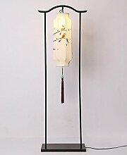 Moderne orientalische Schmiedeeisen Stehlampe Wohnzimmer Hotel retro Studie Schlafzimmer Schreibtischlampe , 2