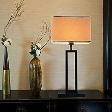 moderne orientalische Stehlampe für Wohnzimmer amerikanischen Retro-Studie Stehleuchte mit Stoffschirm E27 * 1 , 2