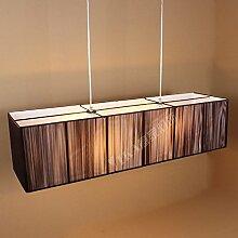 moderne Pendelleuchte Restaurant Lampe LED Seide