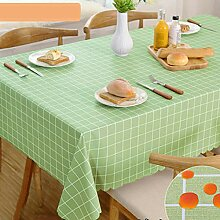 Moderne PVC-Kunststoff-Tischdecke, wasserdicht,