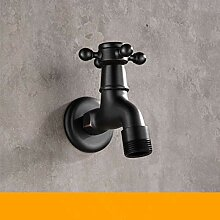 Moderne Schwarze Bronze Einzelne Kalte Wasserhahn
