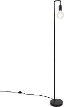 Moderne schwarze Stehleuchte - Facil